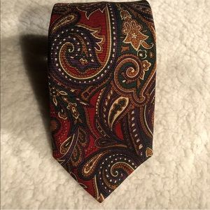 T Harris London mens silk tie Made in the USA